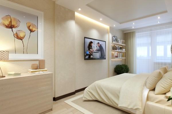 Cream bedroom decor