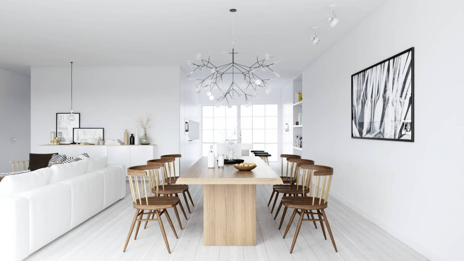 modern ideas in the Scandinavian style