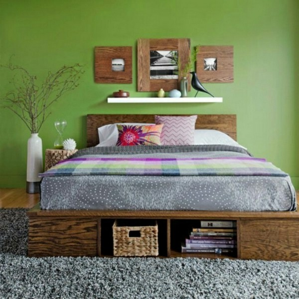 nice big bed room enough space platform bed resized