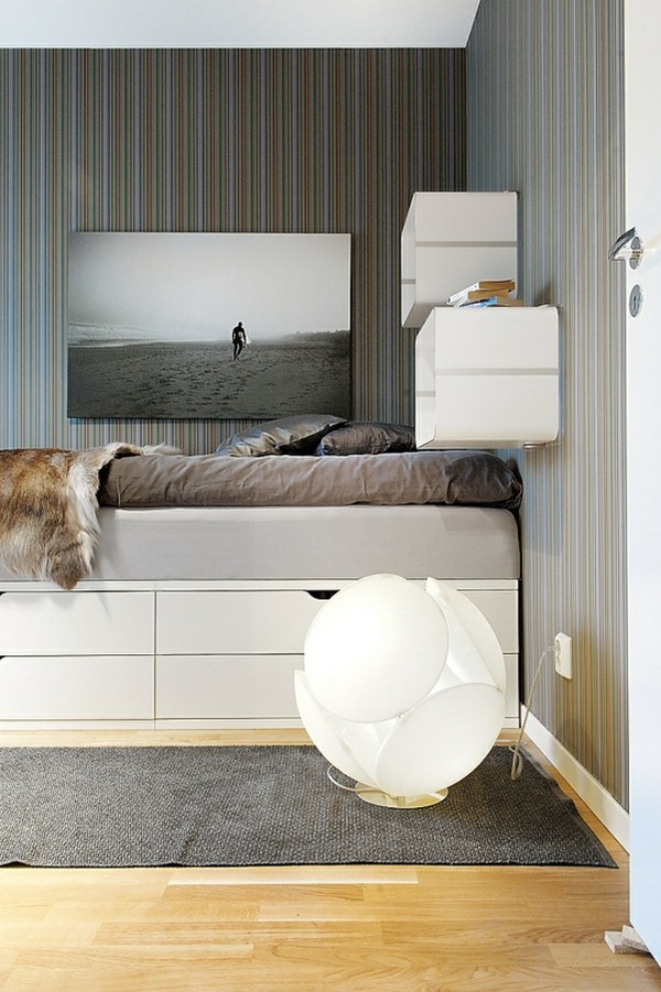 17 ideas of smart diy bedroom storage for small spaces
