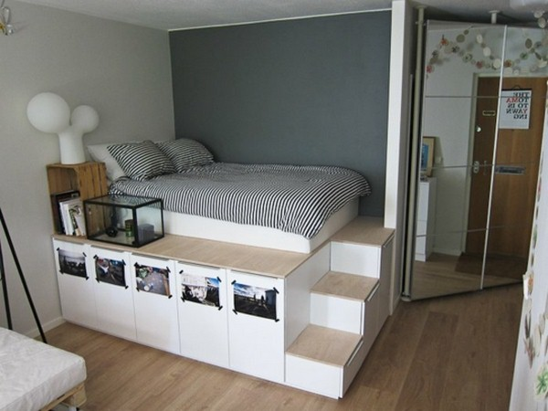 convenient storage bed with storage economy resized clothing