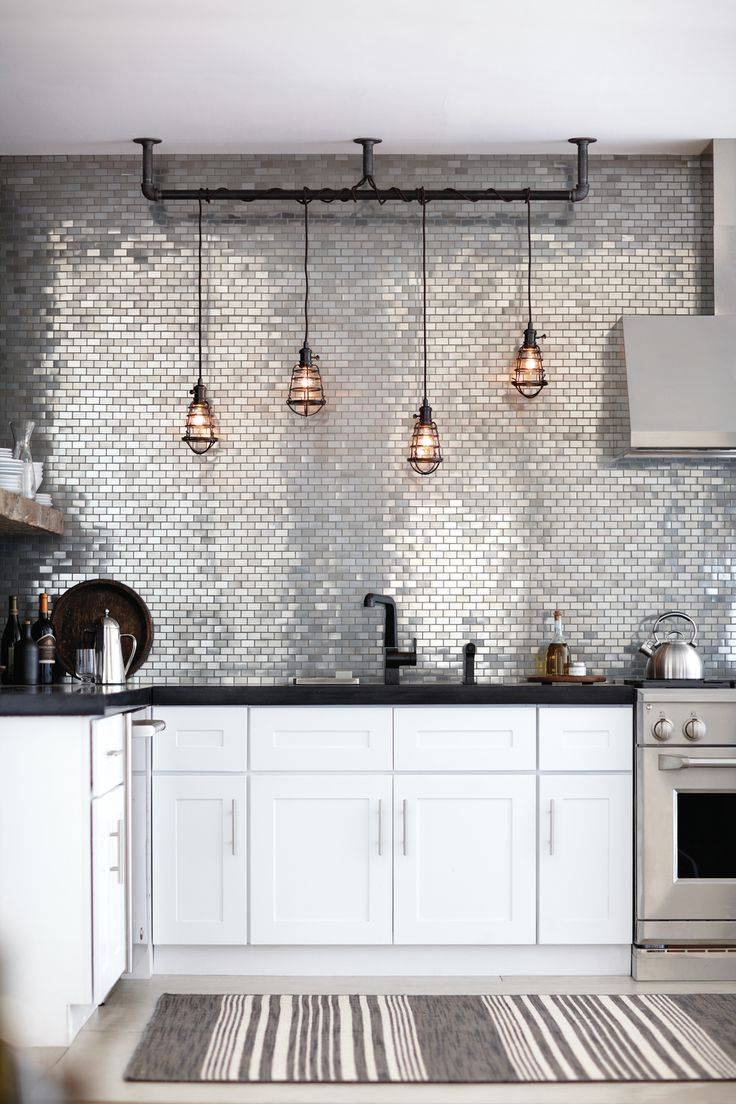 Great industrial kitchen chandelier