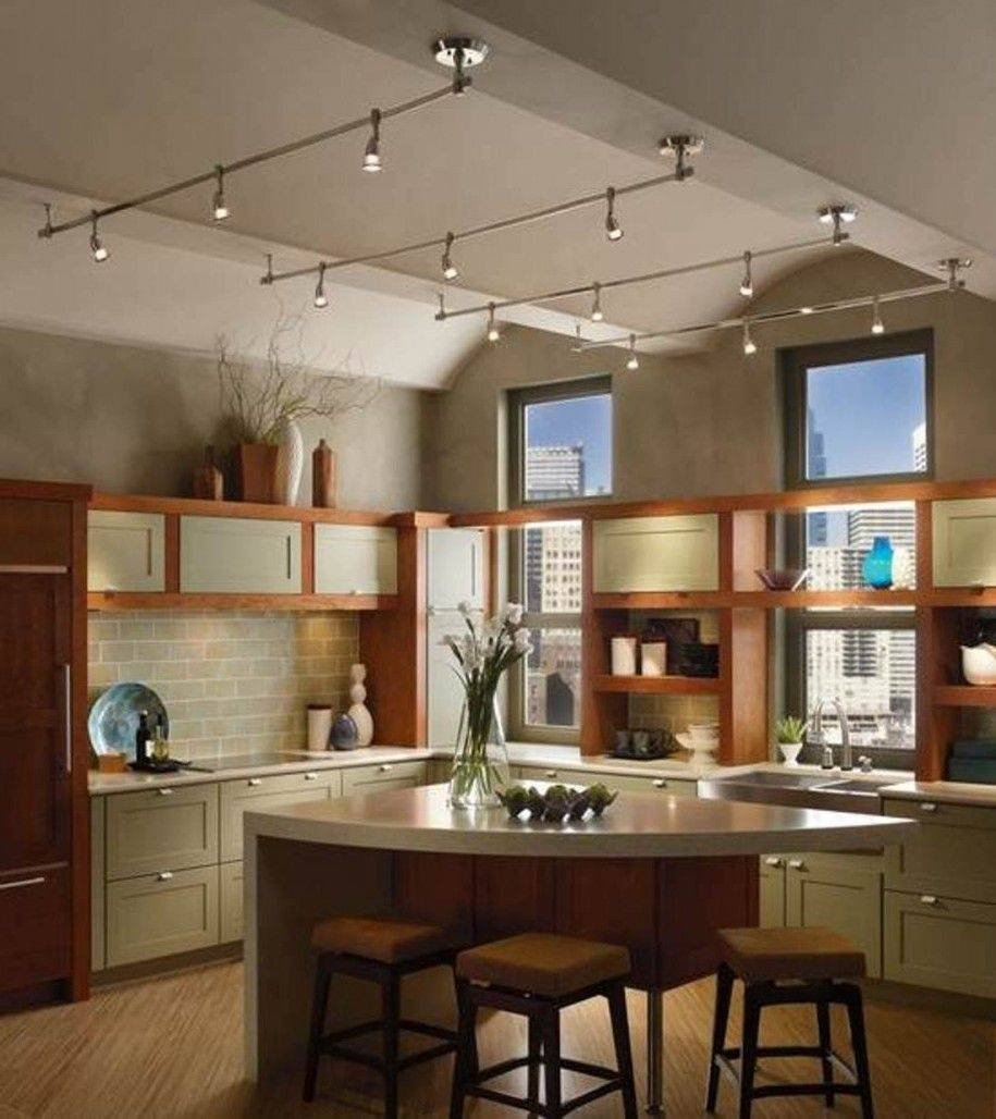 industrial track lighting for kitchen