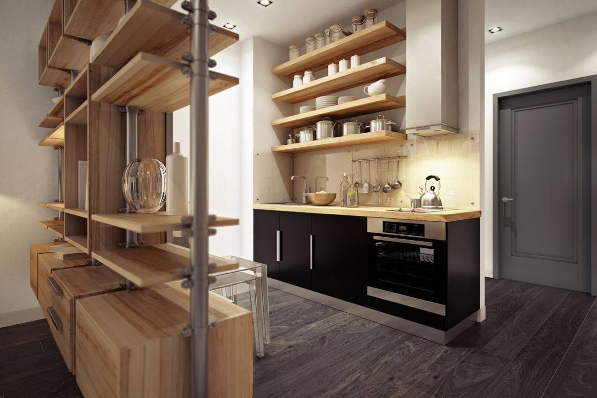 small urban kitchen design